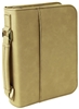 "6 3/4"" x 9 1/4"" Light Brown Leatherette Bible Cover"