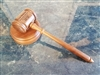 Square-head gavel & block