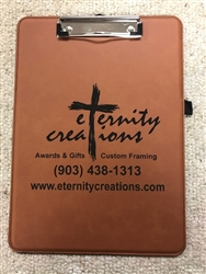 Leatherette Clipboard