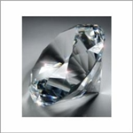CRYSTAL DIAMOND 4''