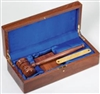 Deluxe Gavel and Presentation Set 12 x 5 1/4