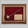 Genuine Walnut Gavel Plaque 15 x 1/2 x 12 1/2