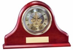 Rosewood Mantle Clock 13 x 9