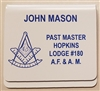 Masonic Pocket Badge - PAST MASTER