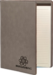 Executive Leatherette Portfolio - Gray