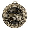 "2 5/16"" Spinner Medal, Citizenship"