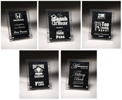 Leadership Theme Acrylic Award Plaques