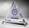 Triangle Acrylic Award 8""