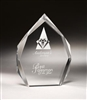 Top Peak Clear Acrylic Award