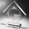 Clear Diamond Acrylic Award 9""