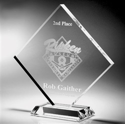Clear Diamond Acrylic Award