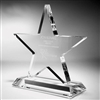 Clear Acrylic Star Award