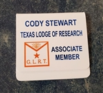 Texas Lodge of Research Pocket Badge - ASSOCIATE MEMBER