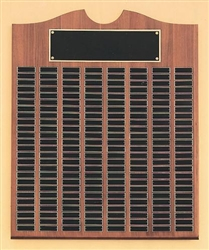 American Walnut Plaque Traditional Scalloped Design 28  x  35