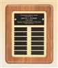 American Walnut Frame Perpetual Plaque 12 x 15