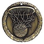 "2"" XR Medal, Basketball"