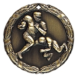 "2"" XR Medal, Football"