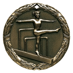 "2"" XR Medal, Gymnastics Female"