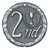 "2"" XR Medal, 2nd Place"