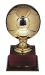 Gold Metal Soccer Ball 14.5inch