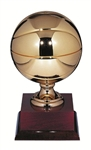Gold Metal Basektball 14.5inch