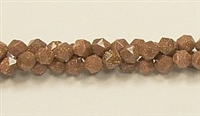 C40-06mm GOLDSTONE FACETED (DC)