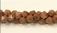 C40-08mm GOLDSTONE FACETED (DC)