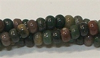 HEISHI BEADS H06-02-INDIAN AGATE BEADS