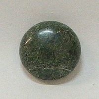 JO6-05 CHINA UNAKITE 20mm ROUND CABOCHON
