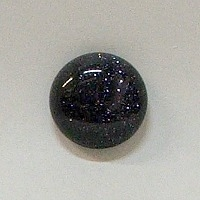 JO7-11 BLUE GOLDSTONE 16mm ROUND CABOCHON