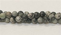 R01-06mm BLACK PICASSO BEADS