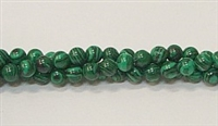 R19-04mm MALACHITE COLOR BEADS