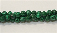 R19-06mm MALACHITE COLOR BEADS