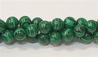 R19-08mm MALACHITE COLOR BEADS