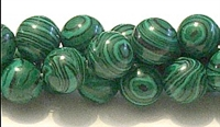 R19-12mm MALACHITE COLOR BEADS