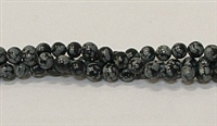 R21-04mm SNOWFLAKE BEADS