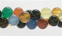 R28-10mm RAINBOW COLOR AGATE