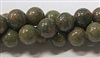 WHOLESALE UNAKITE BEADS IN 10mm