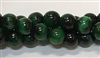 R62-08mm TIGER EYE GREEN BEADS