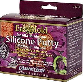 EasyMold Silicone Putty 1 lb Kit