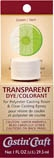 Packaged Transparent Dye - Green (1 oz)