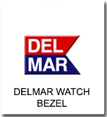 Del Mar Watch  Bezel Replacements Dive & Boating Watches