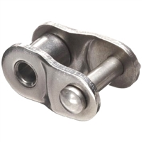 Economy Plus #100 Stainless Steel Roller Chain Offset Link