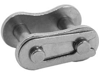 Economy Plus #25 Stainless Steel Roller Chain Connecting Link