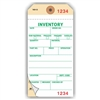 "INVENTORY, Numbered 3 Places, , 6.25"" x 3.125"", White on Manila NCR Paper,2-Ply + Stub, Plain, Box of 500"