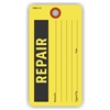 "REPAIR, 5.75"" x 3"", Yellow Paper, Plain, Pack of 100"