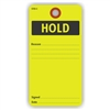 "HOLD, Reason, 5.75"" x 3"", Yellow Paper,, Plain, Pack of 100"