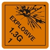 "Explosive 1.3G1, 4"" x 4"", Paper, Roll of 500"