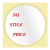 "NO STYLE PRICE, 1"" Circle, Roll of 500"