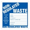 "Non-Regulated Materials,  6"" x 6"", Paper, Pack of 100"